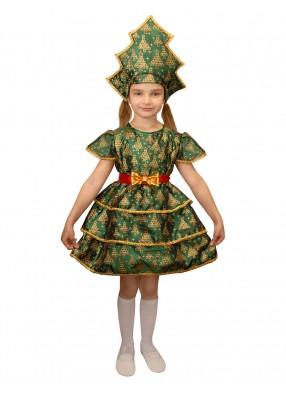 Детский костюм ёлочки с поясом