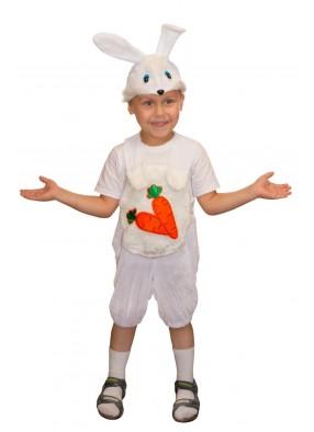 Детский костюм зайчика с морковкой