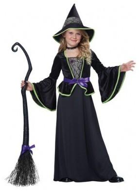Детский костюм застенчивой ведьмы фото