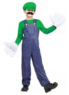 Детский костюм Луиджи Марио