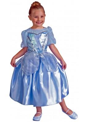 Детское голубое платье Принцессы