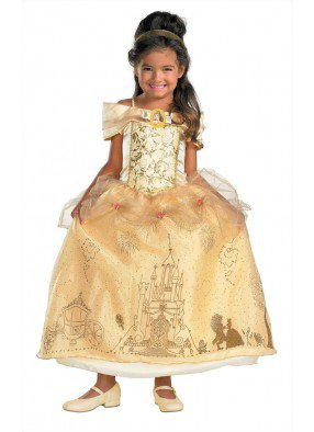 Детское платье принцессы Бэлль