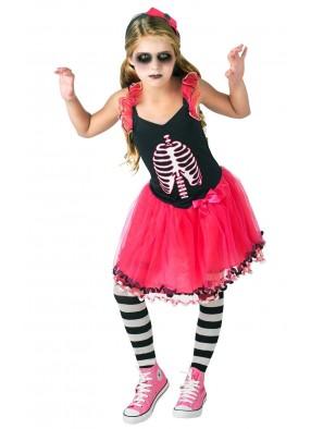 Детское платье Скелетон фото