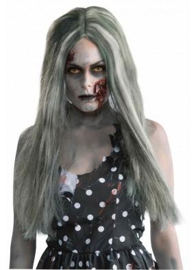 Длинный парик для зомби фото