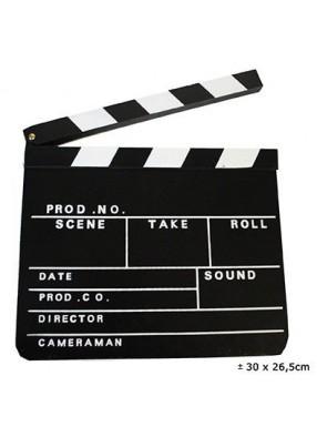 Доска кинематографическая хлопушка