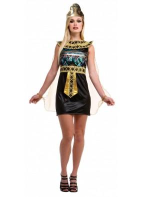 Египетское блестящее платье