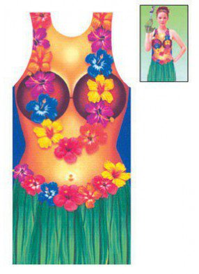 Фартук гавайский женский