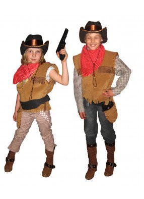 Костюм ковбоя для девочки
