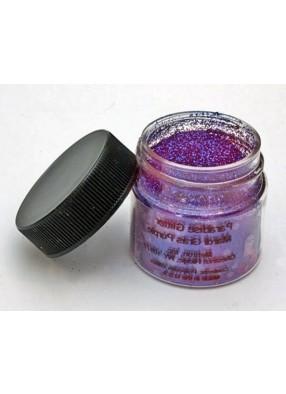 Фиолетовые блестки