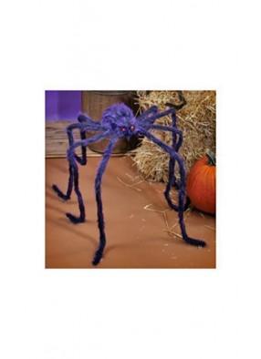 Фиолетовый мохнатый паук 200 см