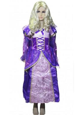 Фиолетовое платье Рапунцель фото