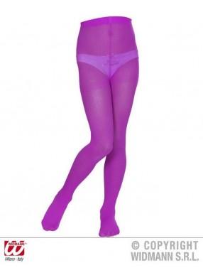 Фиолетовые детские колготки
