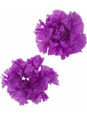 Фиолетовые гавайские браслеты deluxe
