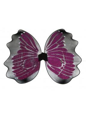 Фиолетовые крылья бабочки