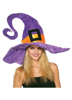 Фиолетовый колпак потрясающей ведьмы