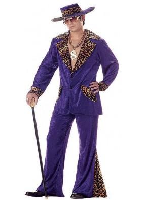 Фиолетовый костюм грозного папочки