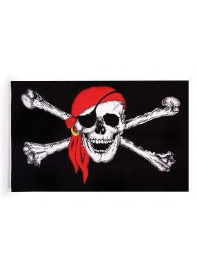 Флаг пирата 45 см