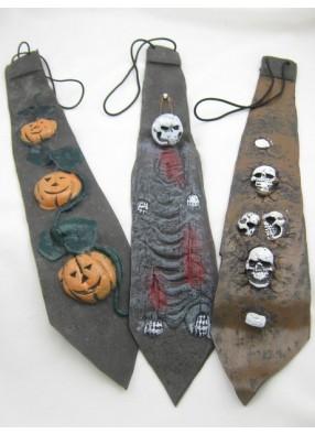 Галстук для Хеллоуина
