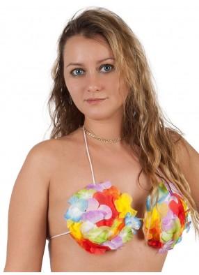 Гавайский топ из цветов