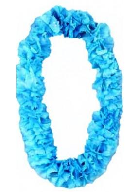Гавайское ожерелье голубое