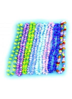 Гавайское ожерелье из маленьких цветочков