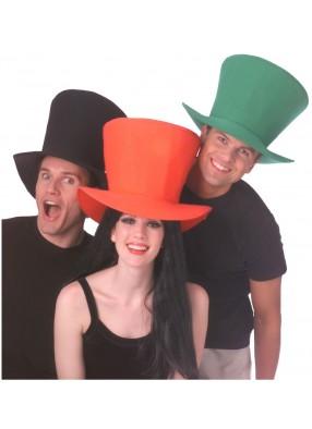 Гигантская черная шляпа