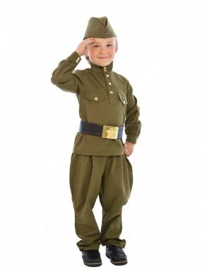 Детская гимнастерка с брюками-галифе