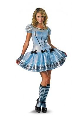 Голубой костюм Алисы