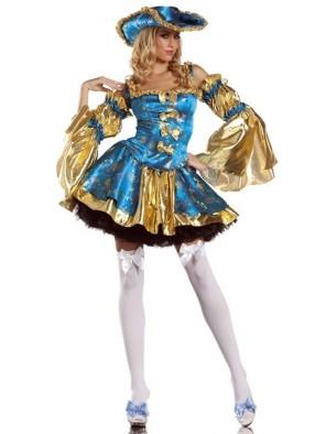 Голубой костюм Антуанетты фото