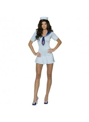 Голубой костюм милой морячки