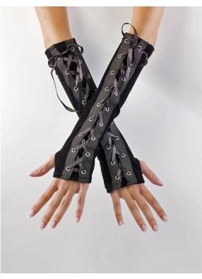 Готические вельветовые перчатки