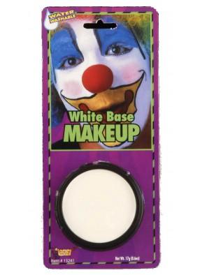 Грим белый клоуну