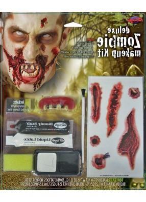 Грим для зомби