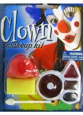 Грим и нос для клоуна