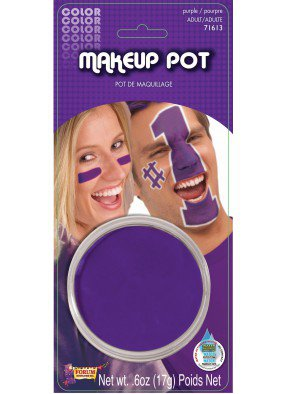 Грим в шайбе фиолетовый