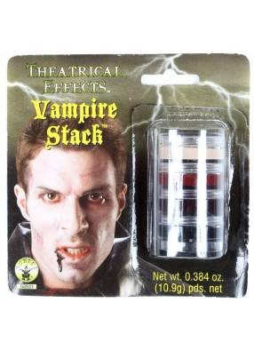Грим вампира ужасный