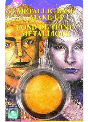 Грим золотой металлик