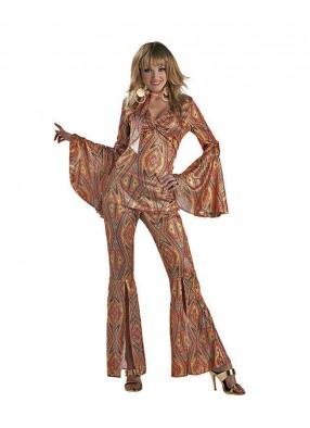 Яркий костюм диско