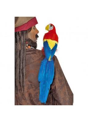 Яркий попугай 50 см