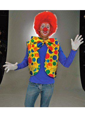 Яркий жилет клоуна