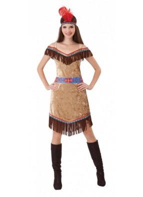 Качественный костюм Индейской девушки