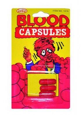Капсулы с алой кровью