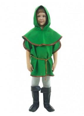 Карнавальный костюм смелого Робин Гуда фото