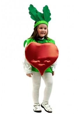 Карнавальный костюм свеклы