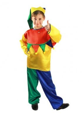 Карнавальный костюм веселого скомороха