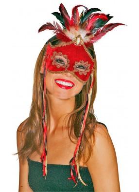 Карнавальная маска райской птицы