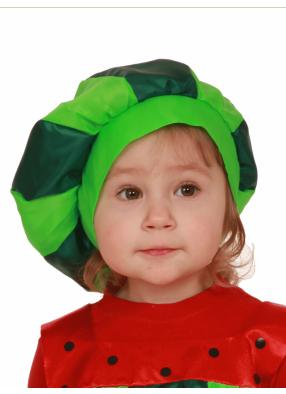 Карнавальная шапочка Арбузик 1 фото