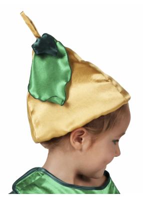 Карнавальная шапочка Груша 1 фото