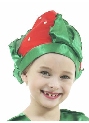 Карнавальная шапочка Клубничка 1 фото