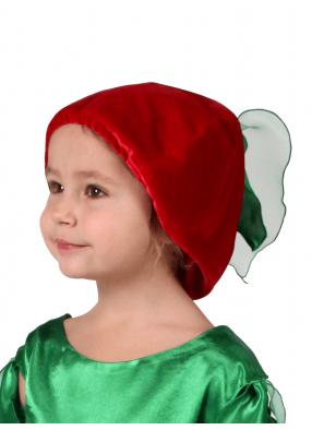 Карнавальная шапочка Вишенка 1 фото